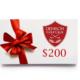 Denison Golf Club Gift Card - $200